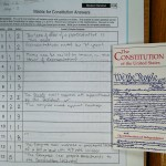 Constitution Question Sheet