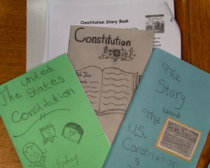 Constitution Storybook project